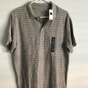 Gap striped collared shirt